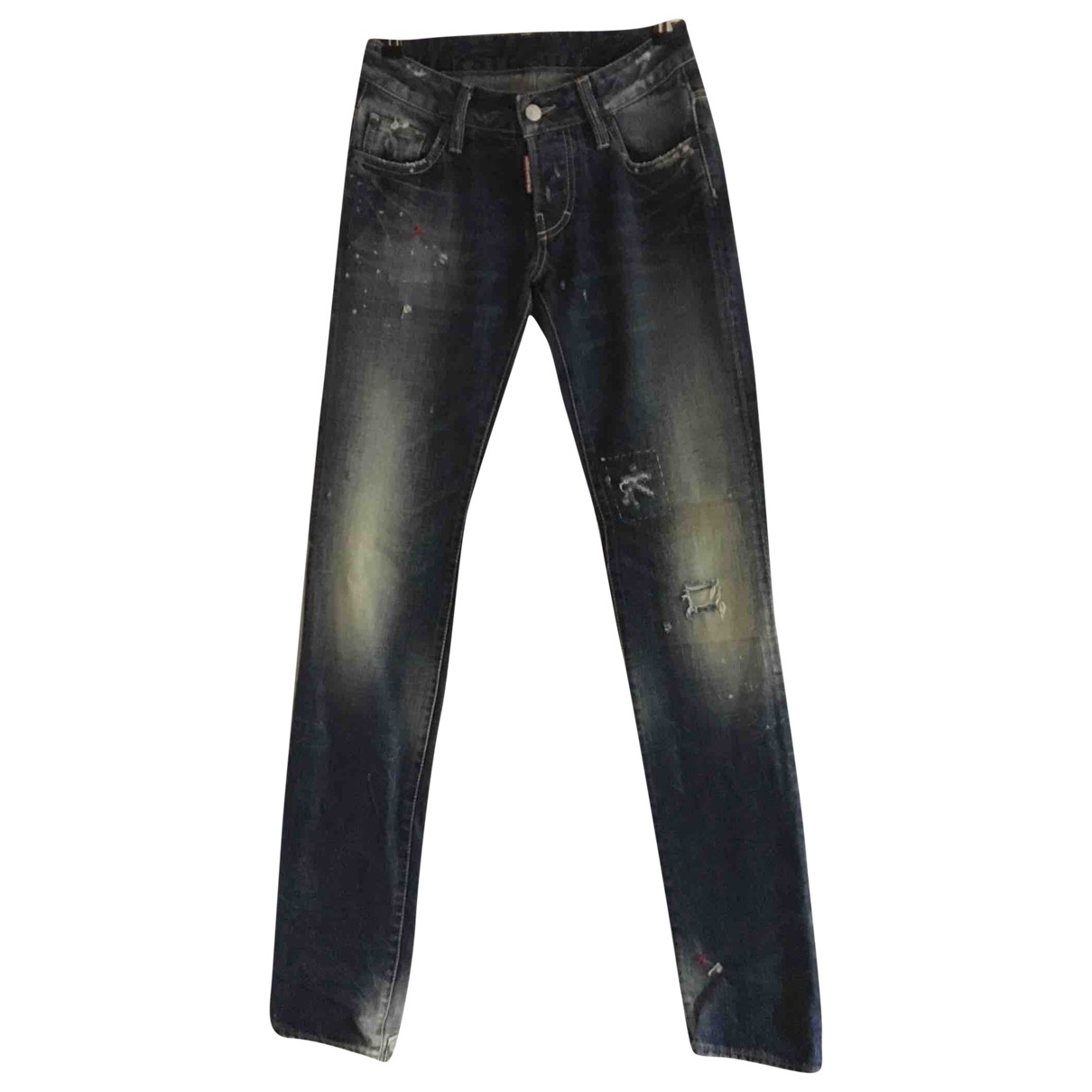 Dsquared2 \N Blue Denim - Jeans Trousers for Women 38 IT