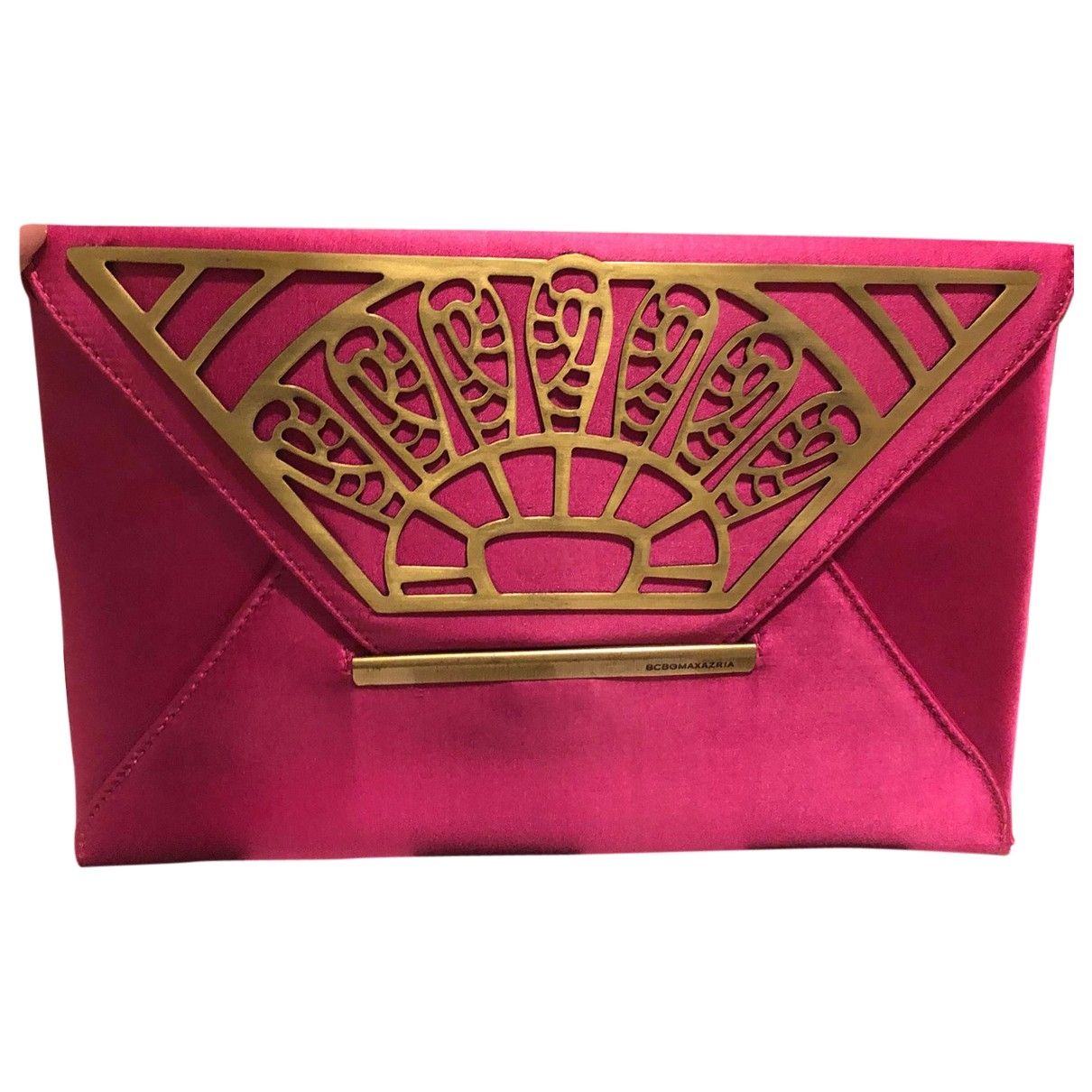Bcbg Max Azria - Pochette   pour femme en soie - violet