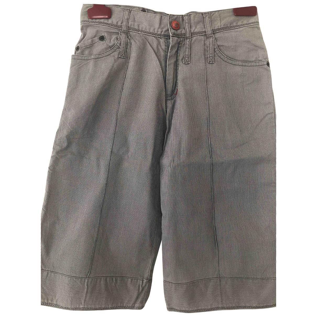 Dior - Short   pour enfant en coton - gris