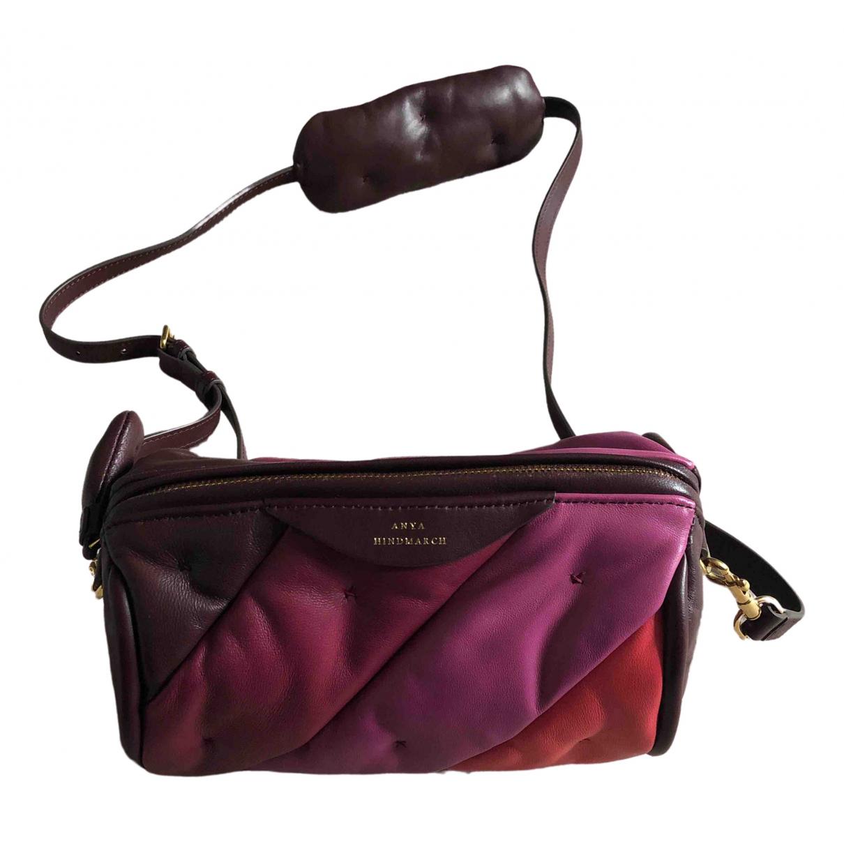 Anya Hindmarch \N Pink Leather handbag for Women \N