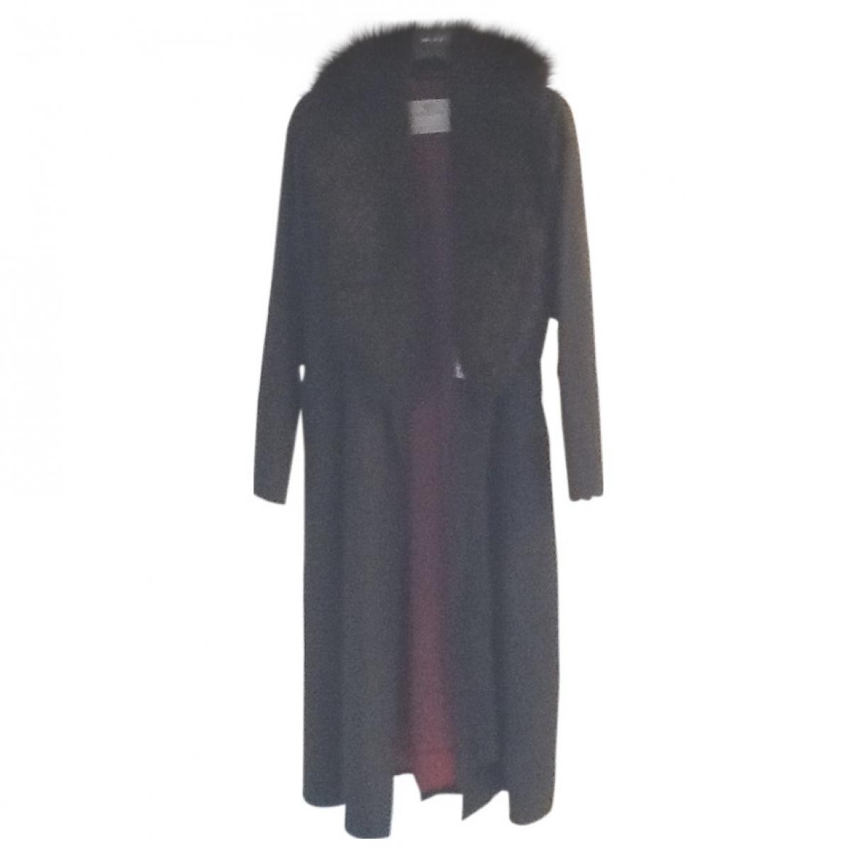Aquascutum \N Black coat for Women L International