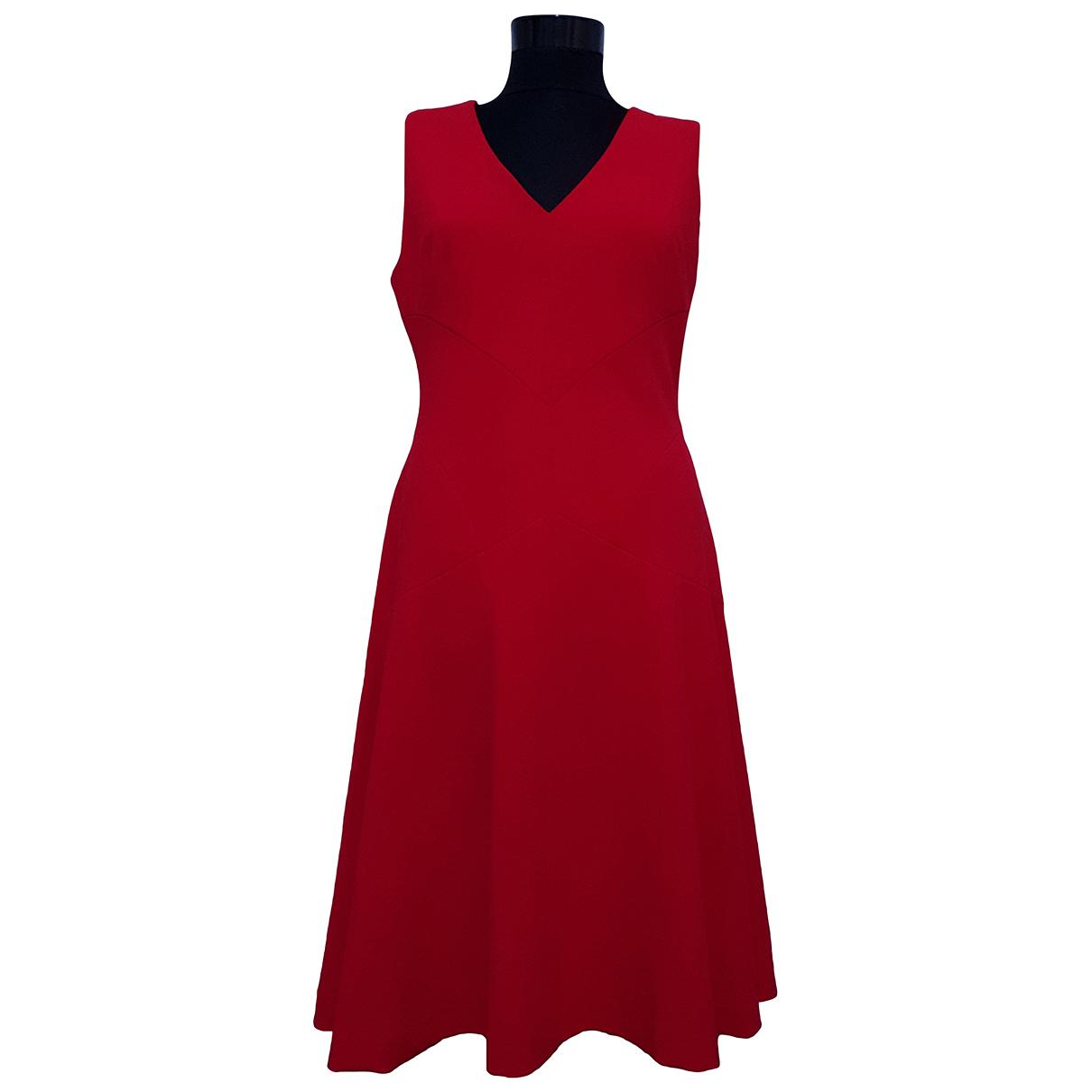 Dkny \N Kleid in  Rot Polyester