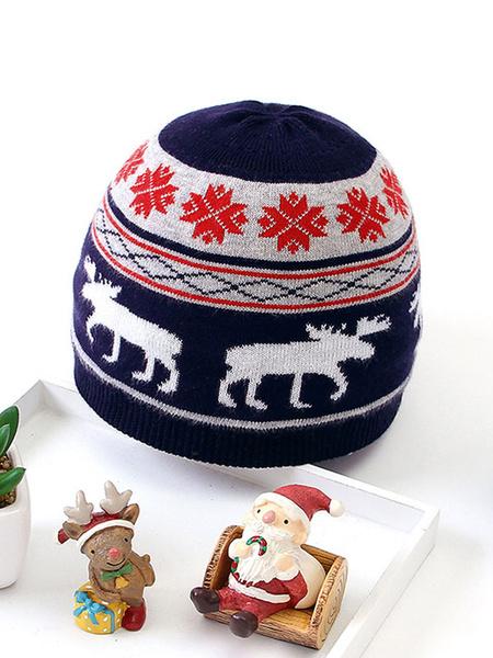 Milanoo Kigurumi Pajamas Bonnie Christmas Reindeer Kid Cotton Winter Sleepwear Mascot Animal Halloween Costume