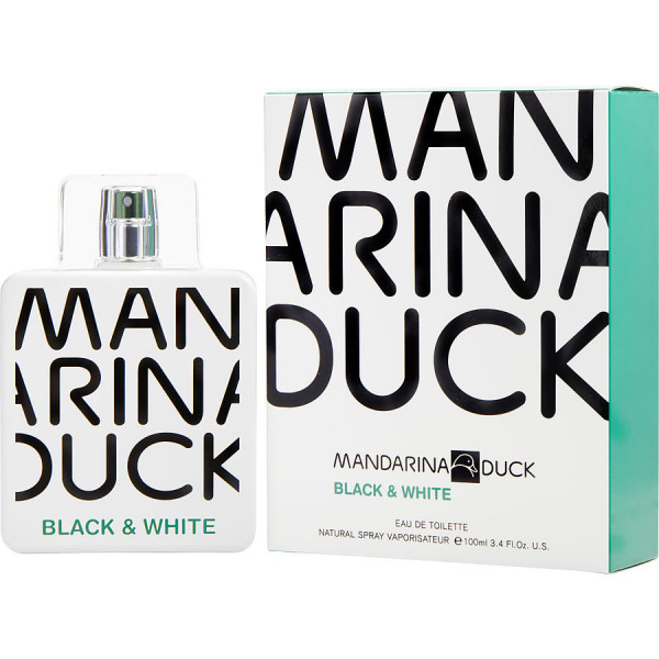 Black & White - Mandarina Duck Eau de Toilette Spray 100 ML