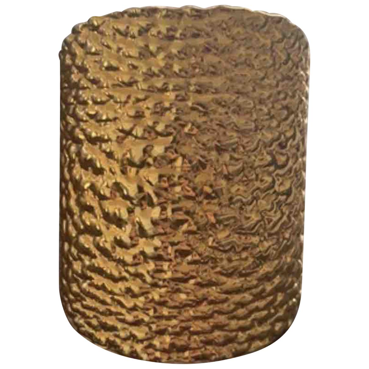 Fendi - Bracelet   pour femme en plaque or - dore