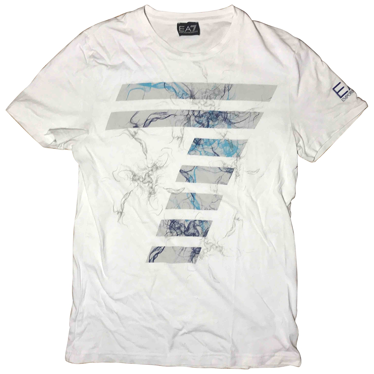 Emporio Armani - Tee shirts   pour homme en coton - blanc