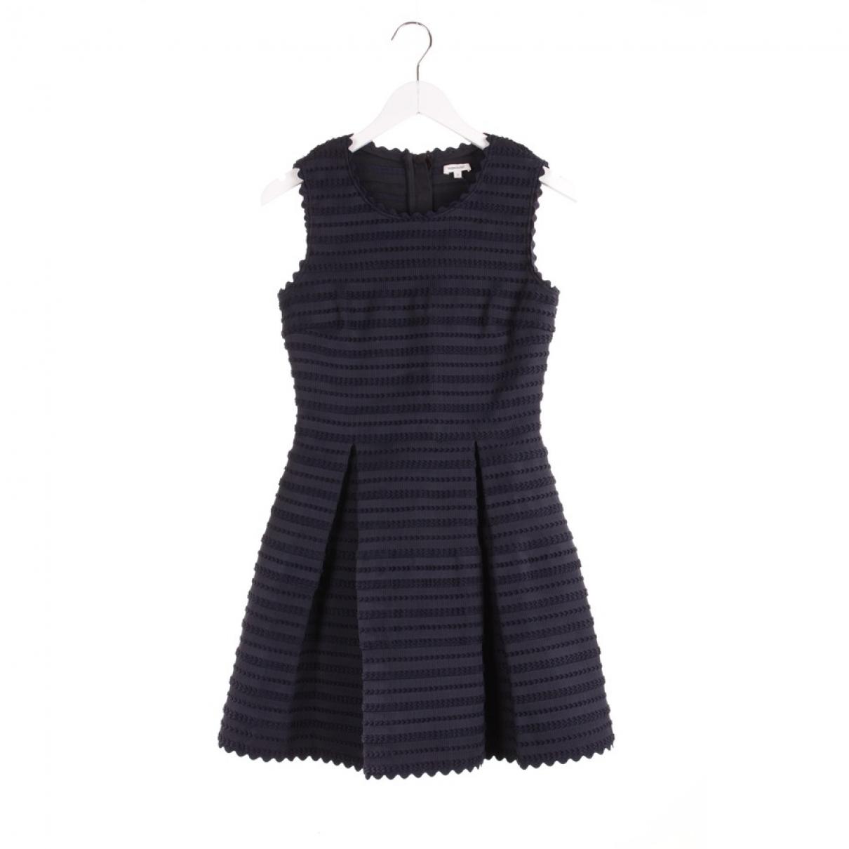 Manoush \N Kleid in  Marine Polyester
