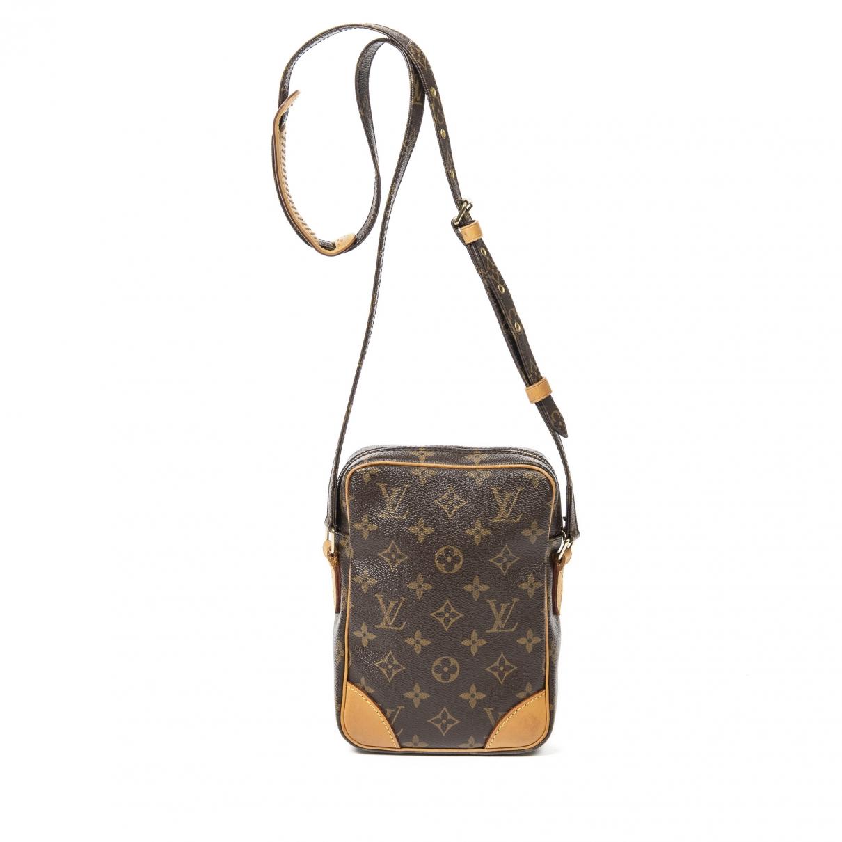 Louis Vuitton Danube Brown Leather handbag for Women \N