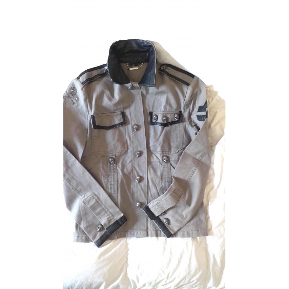 Philipp Plein \N Khaki Cotton jacket  for Men M International