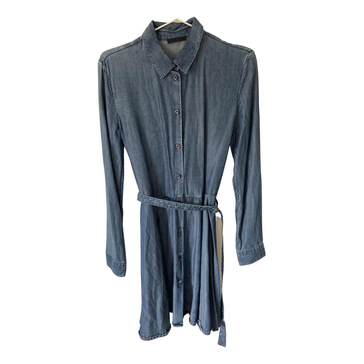 Prada \N Blue Denim - Jeans dress for Women 42 IT