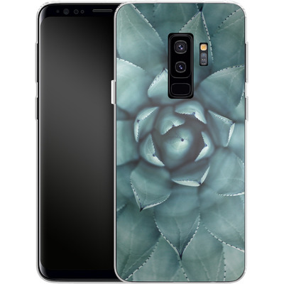 Samsung Galaxy S9 Plus Silikon Handyhuelle - Beautiful Succulent von caseable Designs