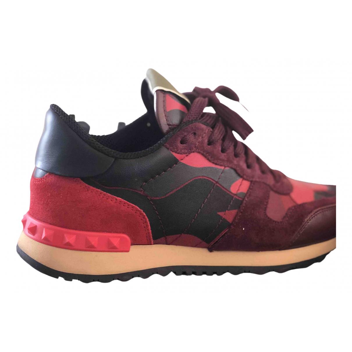 Valentino Garavani Rockstud Multicolour Leather Trainers for Women 37 EU