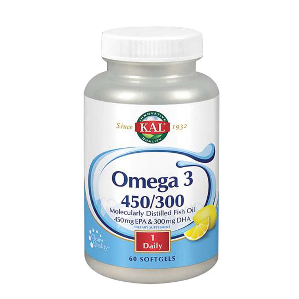 Omega 3 450/300 60 Softgels by Kal