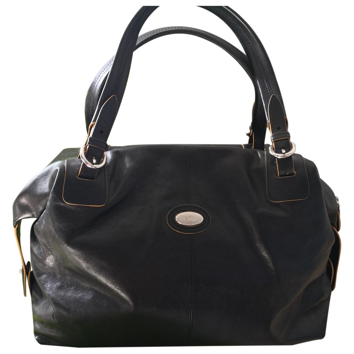 Furla \N Black Leather Travel bag for Women \N