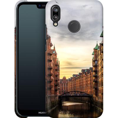 Huawei P20 Lite Smartphone Huelle - Speicherstadt von caseable Designs