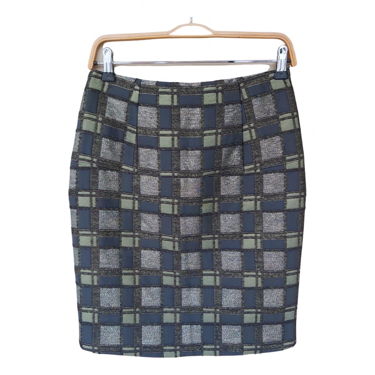 Marni - Jupe   pour femme en laine - kaki