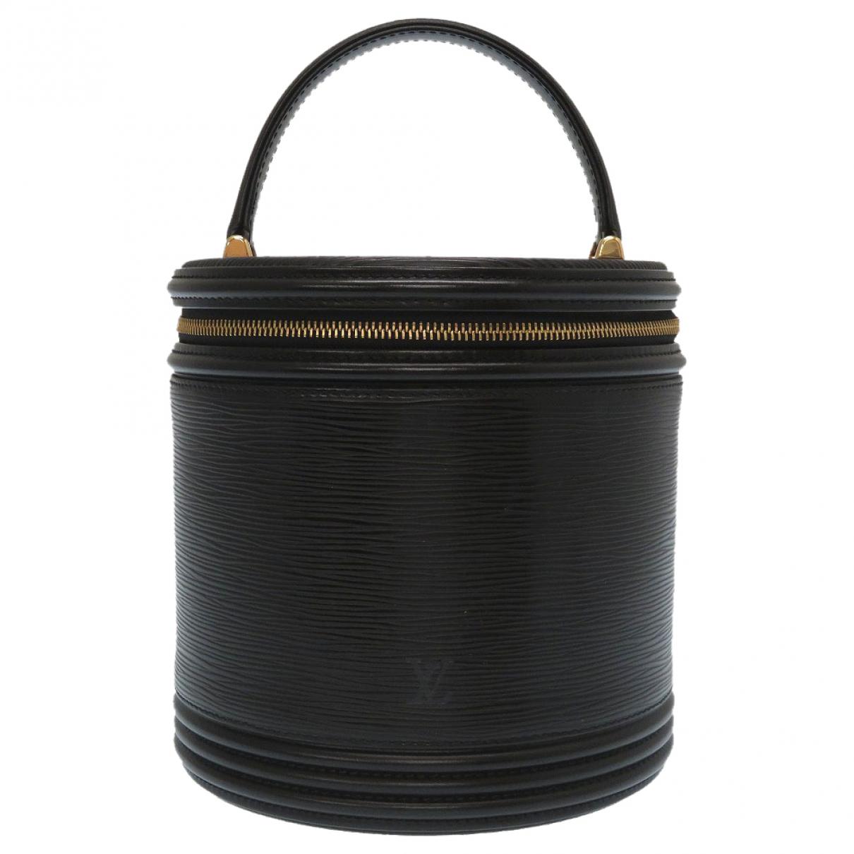 Louis Vuitton Cannes Black Leather handbag for Women \N