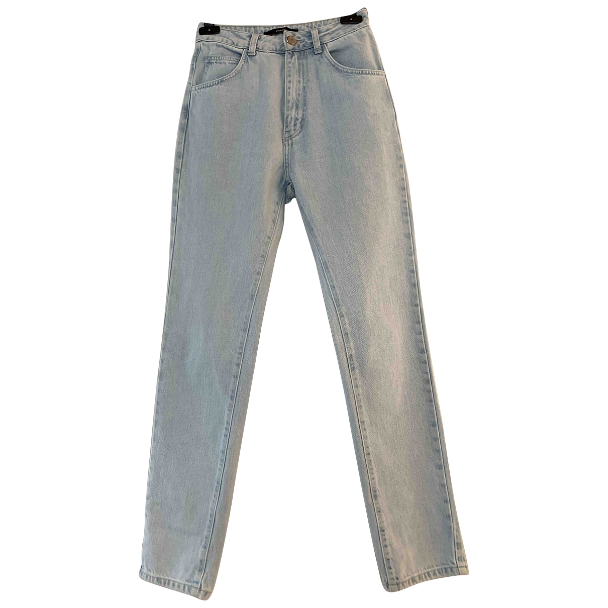 Uterque \N Blue Cotton Jeans for Women 26 US