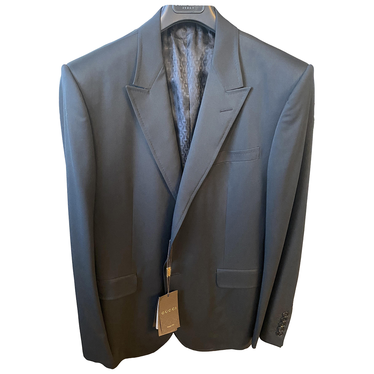 Gucci \N Grey Wool Suits for Men XL International