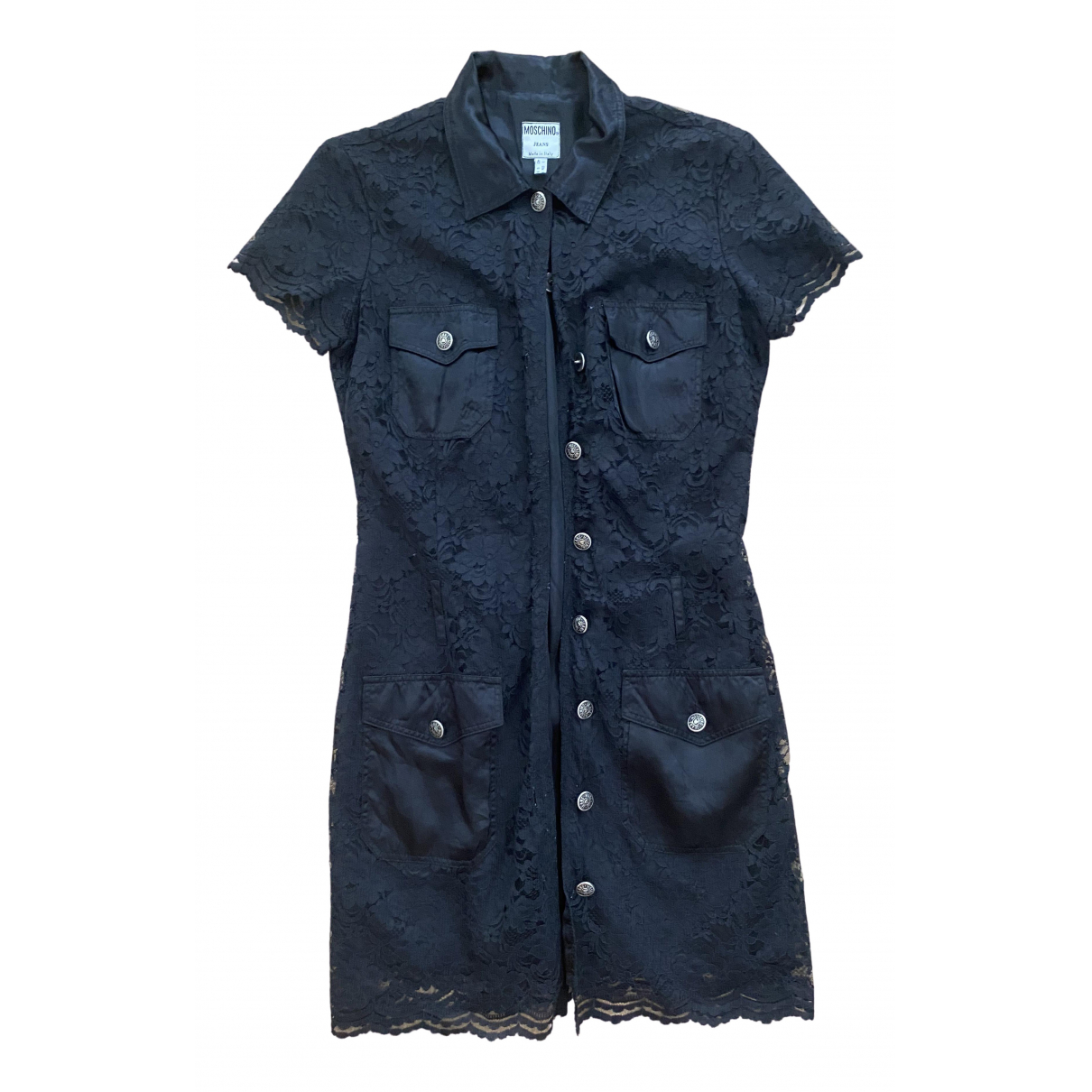 Moschino Cheap And Chic \N Black Cotton dress for Women 42 IT