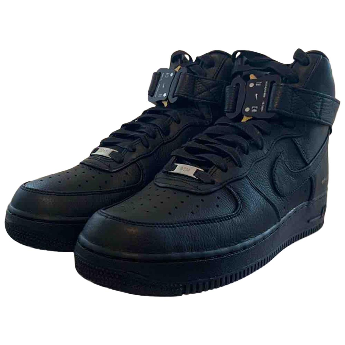 Nike X Alyx - Baskets   pour homme en cuir - noir