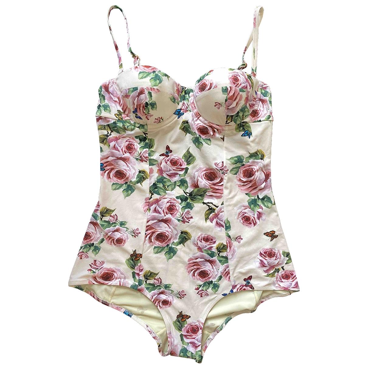 Dolce & Gabbana \N Pink Swimwear for Women 44 IT