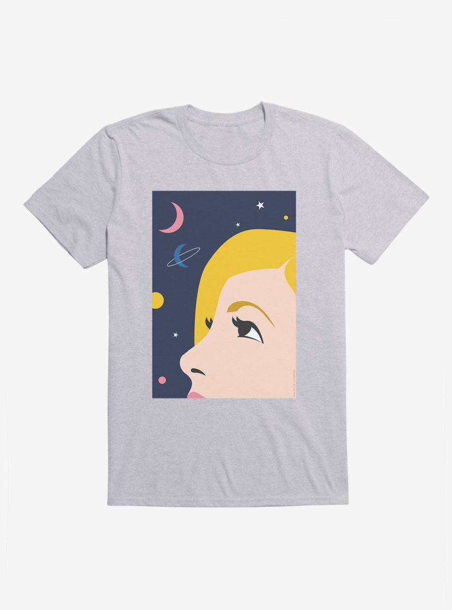 Doctor Who Thirteenth Doctor Illustration Looking Up T-Shirt