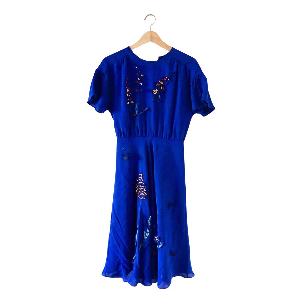Paul Smith \N Kleid in  Blau Viskose