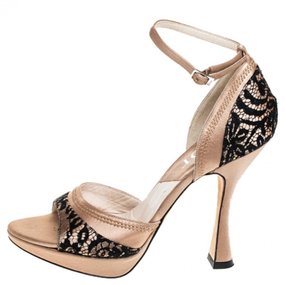 Sandalias romanas de Cuero Dior