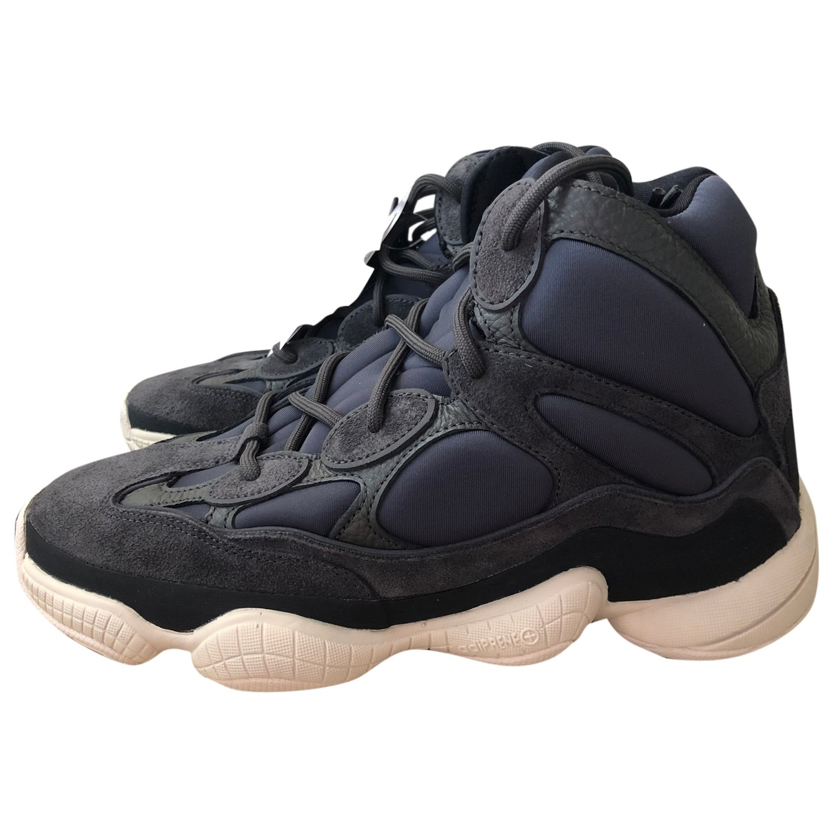 Yeezy X Adidas - Baskets 500 pour homme en toile - bleu