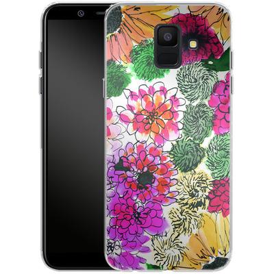 Samsung Galaxy A6 Silikon Handyhuelle - Fiore Sunshine von Amy Sia