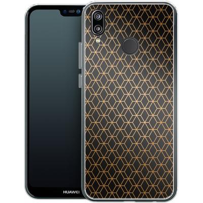 Huawei P20 Lite Silikon Handyhuelle - Night Pattern von #basic