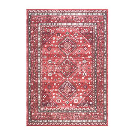 nuLoom Daenerys Persian Rectangular Rug, One Size , Red