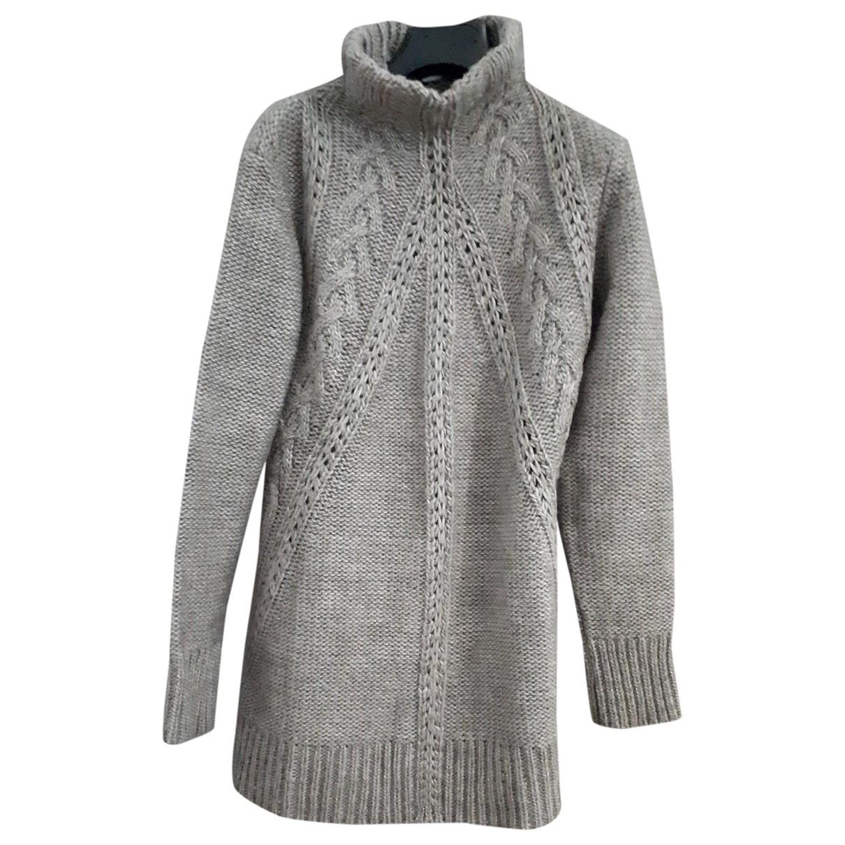 Non Signé / Unsigned \N Grey Wool Knitwear for Women 44 IT
