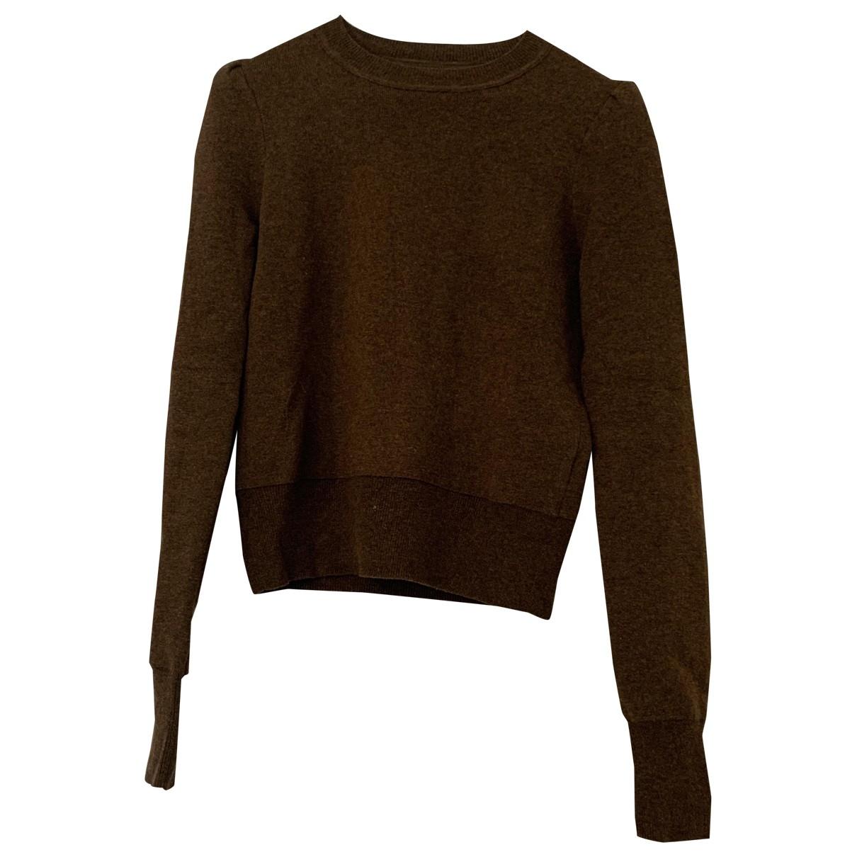 Isabel Marant Etoile \N Brown Cotton Knitwear for Women 38 FR