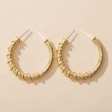 1 Paar Manschette Ohrringe mit Wickel Design