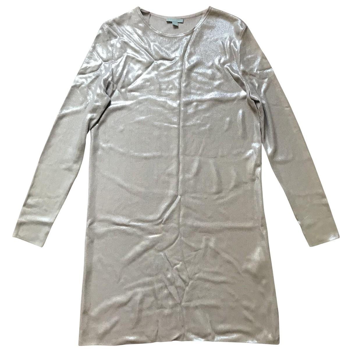 Cos \N Kleid in  Metallic Synthetik