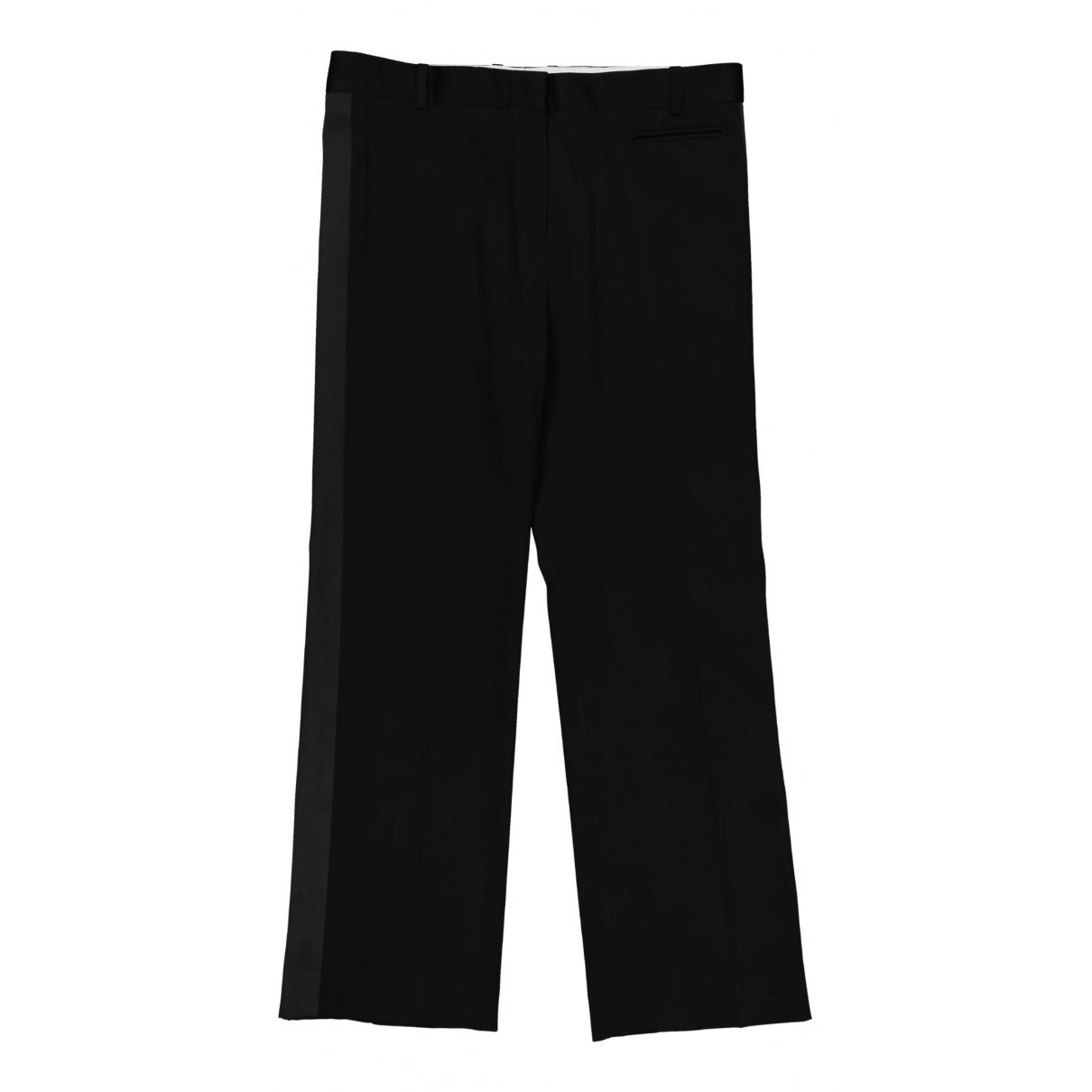 Pantalon recto de Lana Celine