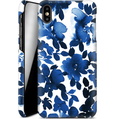 Apple iPhone XS Max Smartphone Huelle - Sophia Blue Floral von Amy Sia