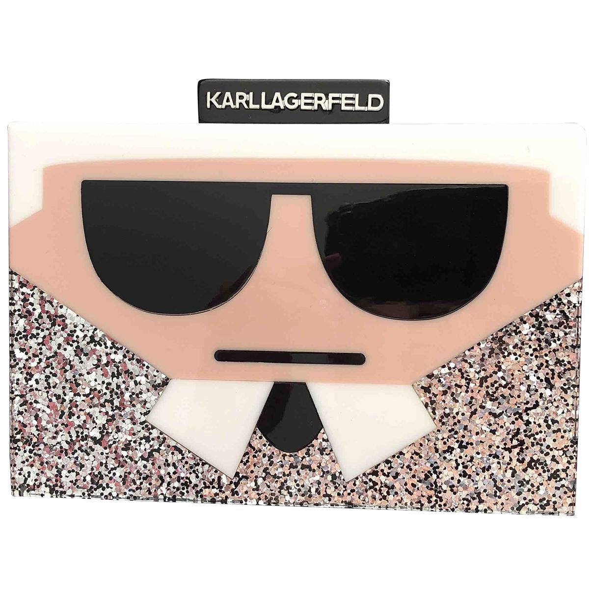 Karl \N Clutch in  Bunt Kunststoff