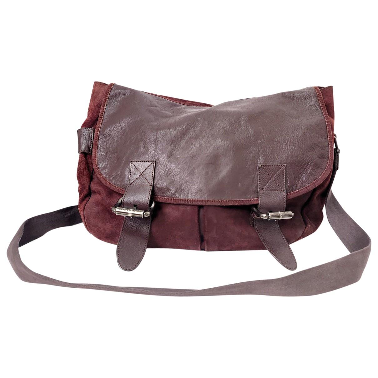 Just Cavalli \N Leather bag for Men \N