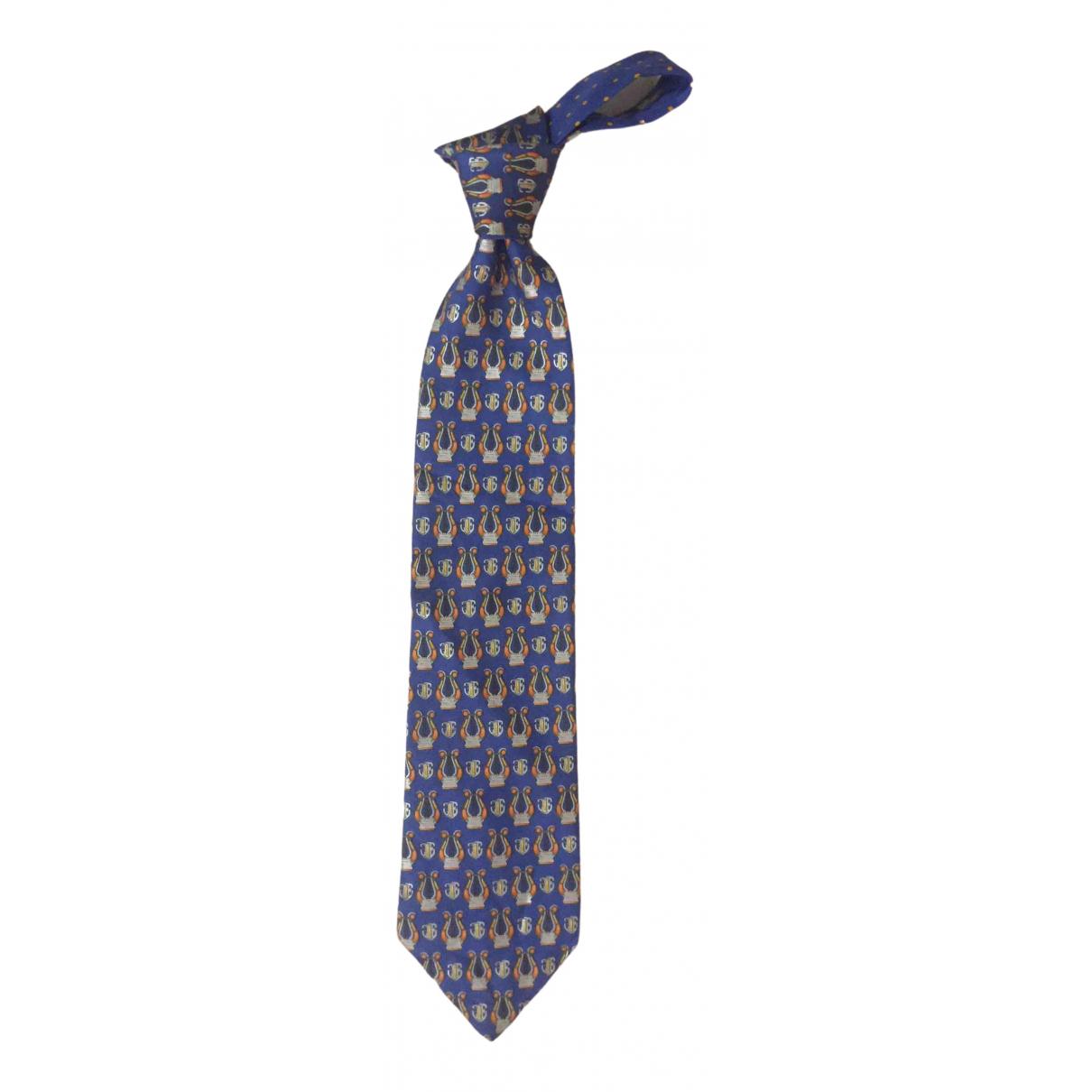 Escada \N Blue Silk Ties for Men \N
