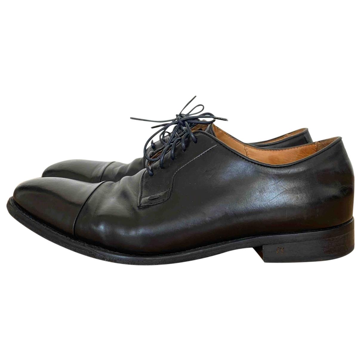 Paul Smith - Derbies   pour homme en cuir - noir
