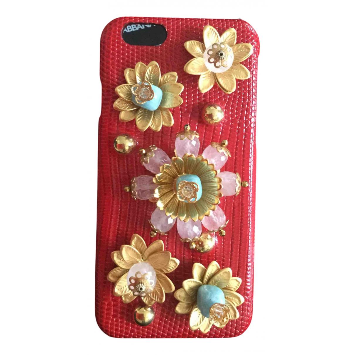 Dolce & Gabbana - Accessoires   pour lifestyle en cuir - rouge