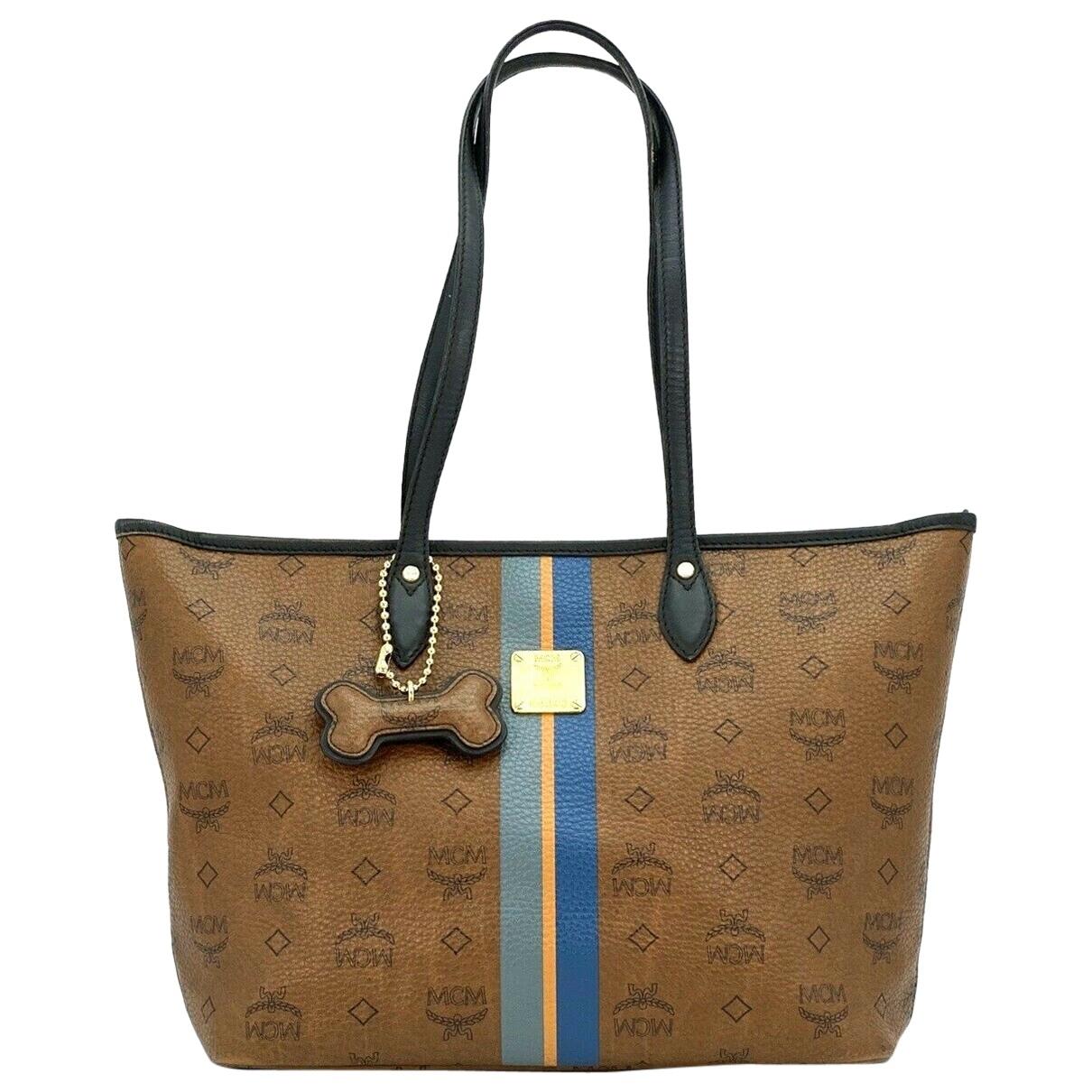 Mcm \N Brown Cloth handbag for Women \N