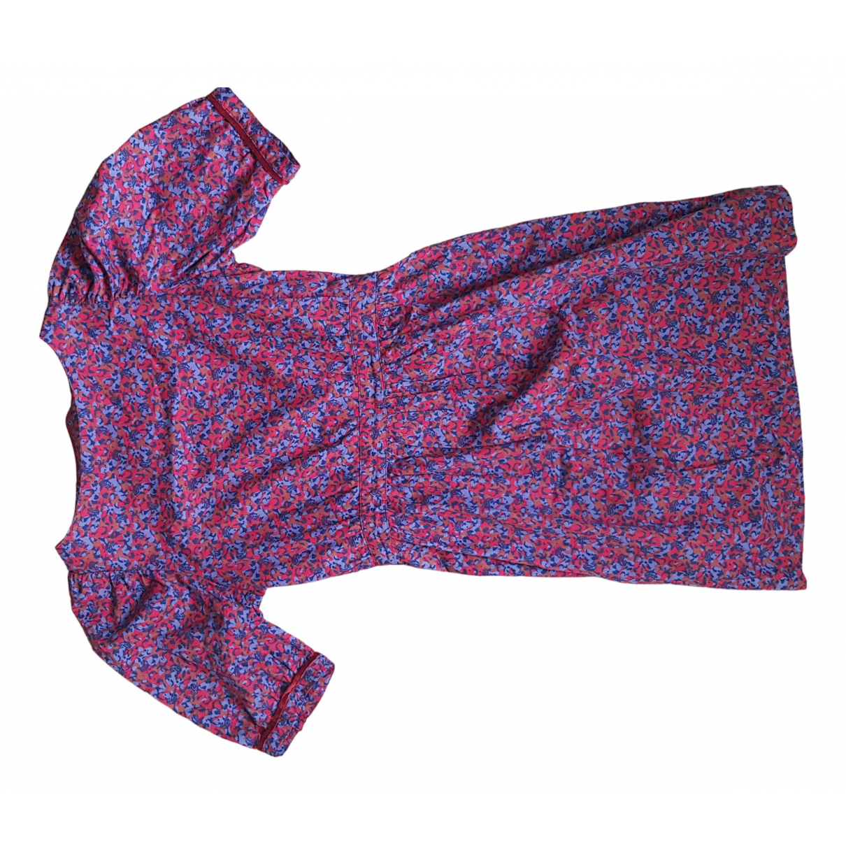 Sessun \N Kleid in  Marine Baumwolle