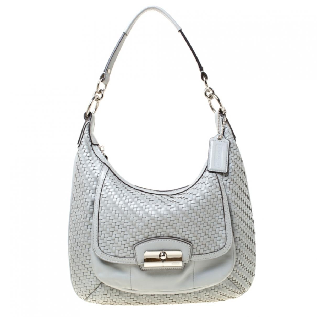 Coach \N Grey Leather handbag for Women \N