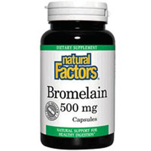 Bromelain 90 Caps by Natural Factors