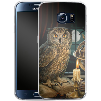 Samsung Galaxy S6 Silikon Handyhuelle - The Astrologer von Lisa Parker