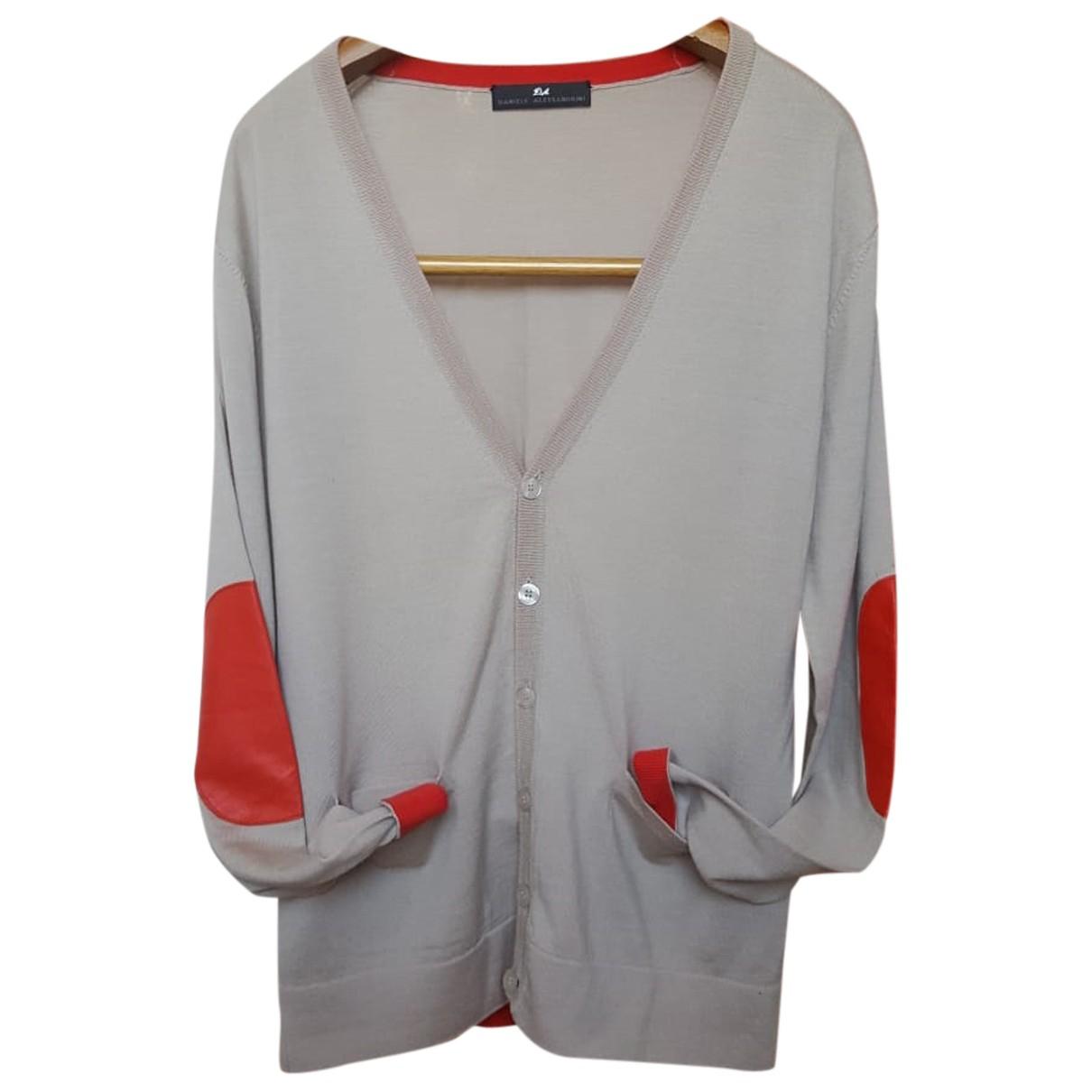 Daniele Alessandrini N Beige Wool Knitwear & Sweatshirts for Men L International